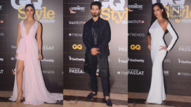 Bollywood Celebrities Grace the First Ever GQ Style Awards 2018