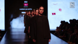 Akaaro by Gaurav Jai Gupta at Amazon India Fashion Week Autumn Winter 2018