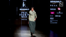ILK by Shikha and Vinita at Amazon India Fashion Week Autumn Winter 2018
