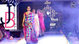 Jayanthi Ballal Showcases Ethnic Wear at Andhra Pradesh Fashion Week 2018