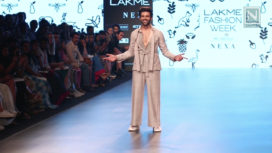 Kartik Aaryan Shares Thoughts on Walking for Amit Wadhwa at Lakme Fashion Week SR 18