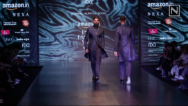 Kommal and Ratul Sood at Amazon India Fashion Week Autumn Winter 2018