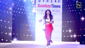 Kriti Kharbanda Walks for Sunishka Goenka at Bombay Times Fashion Week 2018