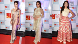 Bollywood Celebrities at the Red Carpet for Manish Malhotra for the Mijwan Show