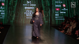 Madhu Jain Showcases at Amazon India Fashion Week Autumn Winter 2018