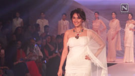 Manjari Fadnnis Walks for Rina Dhaka and Poonam Soni at BTFW 2018