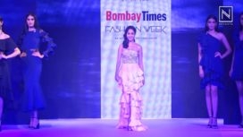 Nushrat Bharucha Turns Showstopper for Label Tisharth at Bombay Times Fashion Week 2018