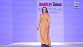 Shibani Dandekar Walks for Shahin Mannan at Bombay Times Fashion Week 2018