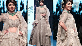Shilpa Shetty Talks About the Collection by Jayanti Reddy at Lakme Fashion Week SR 18