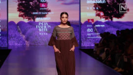 Shruti Sancheti Showcases at Amazon India Fashion Week Autumn Winter 2018