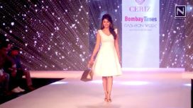 Urvashi Rautela Walks for Ceriz at Bombay Times Fashion Week 2018