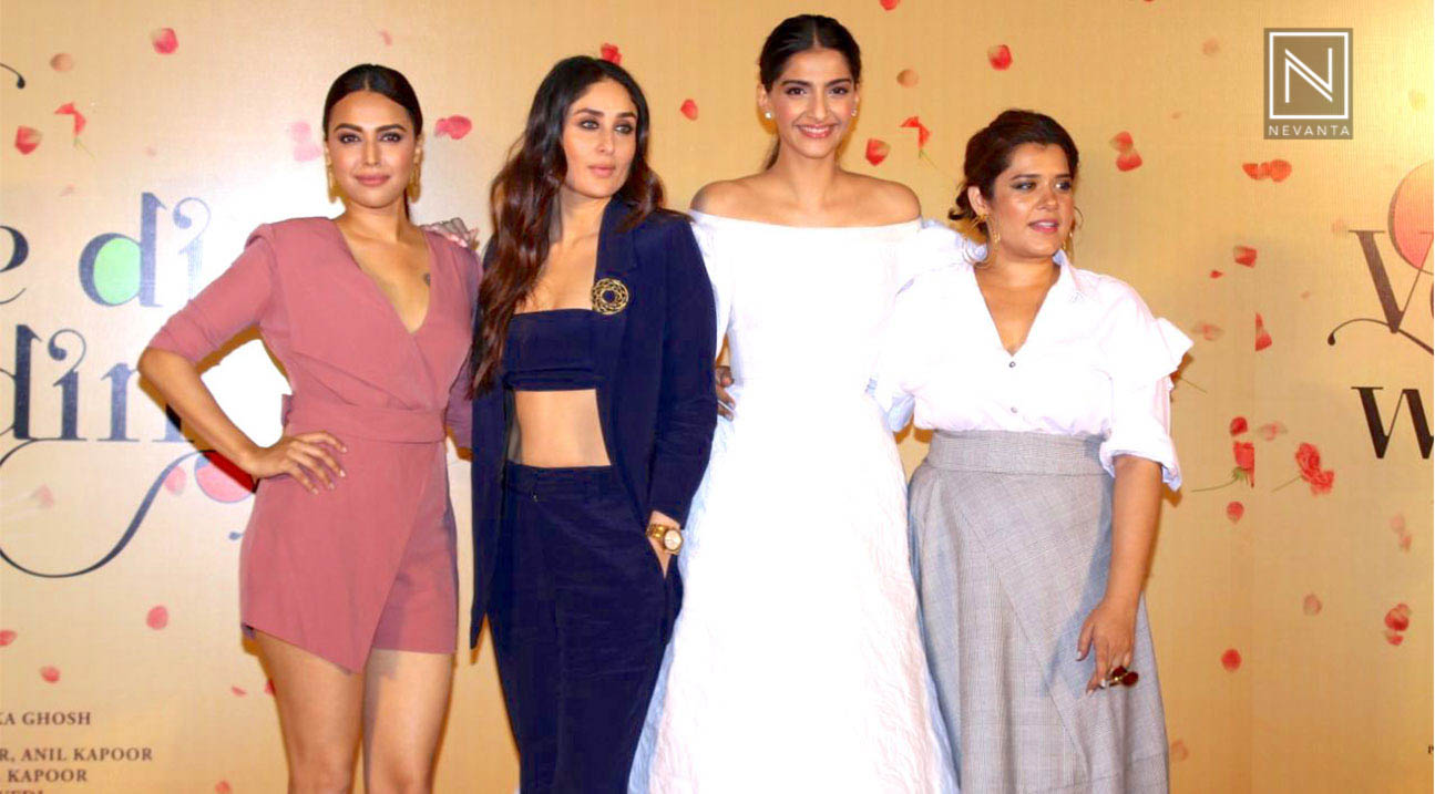 Veere Di Wedding Cast.Kareena And Sonam Along With Other Star Cast Unveil The Trailer Of