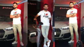 Virat Kohli Launches the 2018 Audi RS5 High Performance Coupe in India