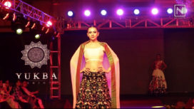 Yukba Fashions Showcase at Andhra Pradesh Fashion Week 2018