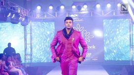Zuber K Khan Turns Showstopper for Sumit DasGupta at Andhra Pradesh Fashion Week 2018