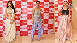 Celebrities at the Launch of the Holiday Edit of Aza Fashions
