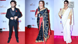 Celebrity Looks at Dada Saheb Phalke Film Foundation Awards 2018