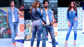 Esha Gupta and Vidyut Jamwal Walk Down the Ramp Together