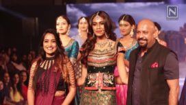 Apeksha Porwal for Fulki at Bangalore Times Fashion Week 2018