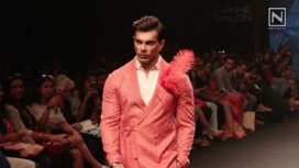 Karan Grover Talks About his Style and Walking the Runway at Lakme Fashion Week SR18
