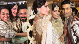 Celebs Dance Their Hearts Out at Sonam Kapoor's Mehendi Ceremony