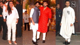 Here's a Look at Bollywood Celebs at Sonam Kapoor's Pre-Mehendi Ceremony