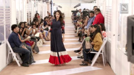 Sagarika Ghatge Talks About Walking for The Showroom Edit at Lakme Fashion Week SR18