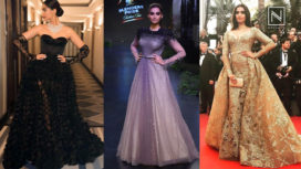 Best Red Carpet Reception Gowns by Sonam Kapoor That Left us Spellbound