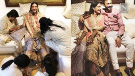Sonam Kapoor and Anand Ahuja's Star Studded Pre Mehendi