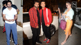 The Kapoor Family and Other Celebs At Sangeet Rehearsals for Sonam Kapoor's Wedding
