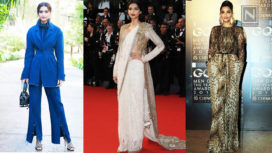 Top 10 Experimental Looks Sonam Kapoor Carried Off in Style