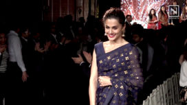 Taapsee Pannu Walks the Ramp at the Launch of Exclusive Collection by a Jewellery Brand