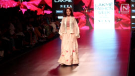 Tisca Chopra Talks About Collection by Vineet and Rahul at Lakme Fashion Week SR 18