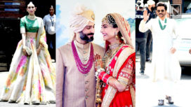 Sonam Kapoor and Anand Ahuja's Celeb Studded Wedding