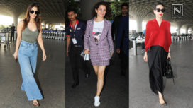 The Best of Airport Fashion from Bollywood Celebrities