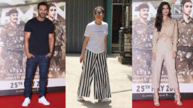 Celebrities Stepping Out in Their Fashion Forward Looks