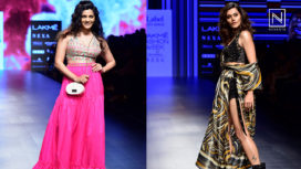 Designer and Their Showstopper - Taapsee Pannu and Saiyami Kher