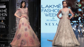 Designer and Their Showstopper - Kangana Ranaut and Kriti Sanon