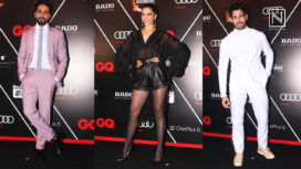 A Glimpse of Bollywood Celebrities at GQ 100 Best Dressed 2018
