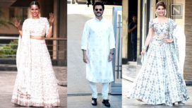 Bollywood Celebs Arrive for Sonam Kapoor's Mehendi