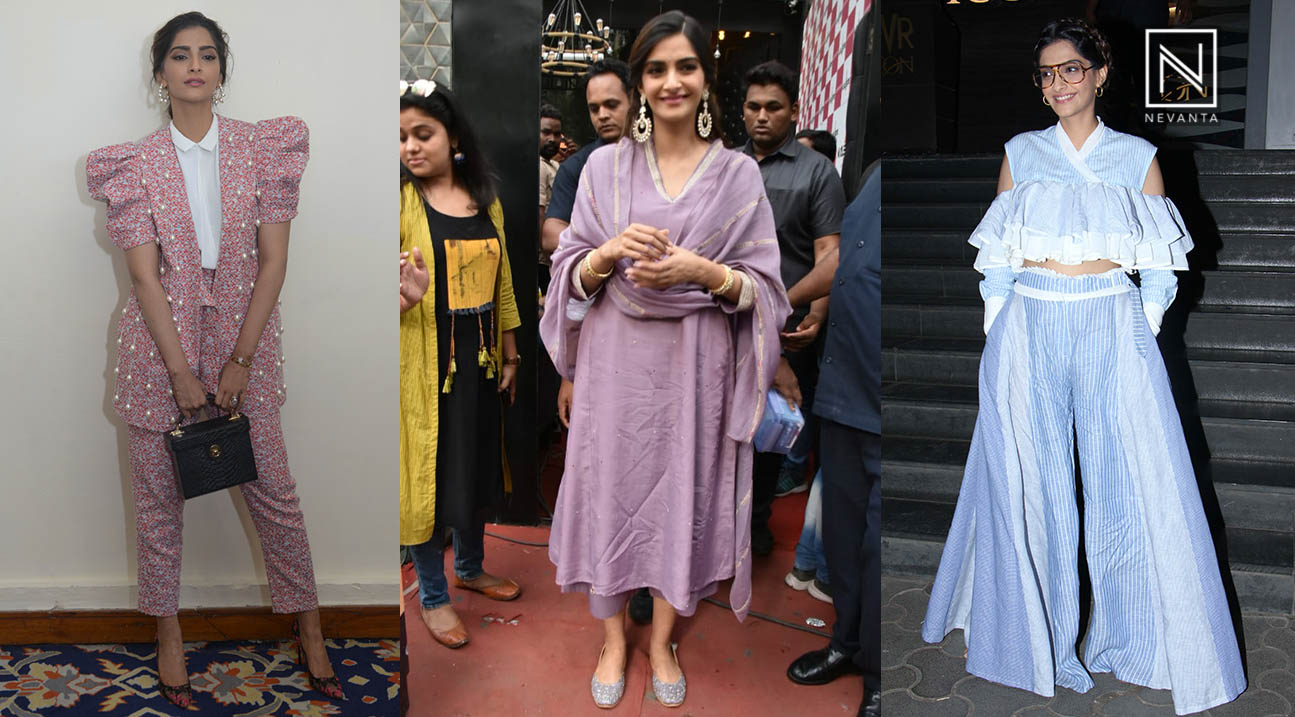 Veere Di Wedding Outfits.Sonam Kapoor Gives Us New Fashion Goals At Veere Di Wedding