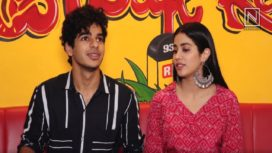 Catch Janhvi Kapoor and Ishaan Khatter in Celeb Spotting among Others