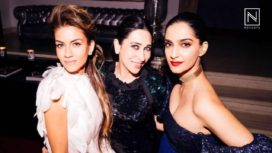 Celebs at Sonam Kapoor and Anand Ahuja's Party Hosted by Natasha Poonawala