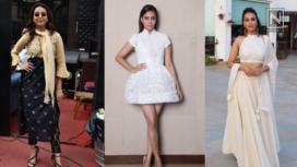 Swara Bhasker Amps Up her Fashion Game with Veere Di Wedding Promotions