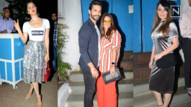 Bollywood Celebs at the Success Party of Lust Stories