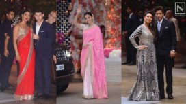 Bollywood Celebs at the Pre-Engagement Party of Akash Ambani and Shloka Mehta