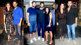 Neha Dhupia and Angad Bedi Throw a Party for Celebrities