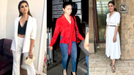 Bollywood Celebrities Flaunt Their Best Fashion Game