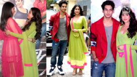 Janhvi Kapoor and Ishaan Khatter launch Dhadak Trailer