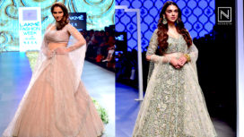 Designers and Their Showstoppers - Sania Mirza and Aditi Rao Hydari